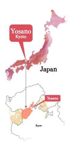 Yosano Map